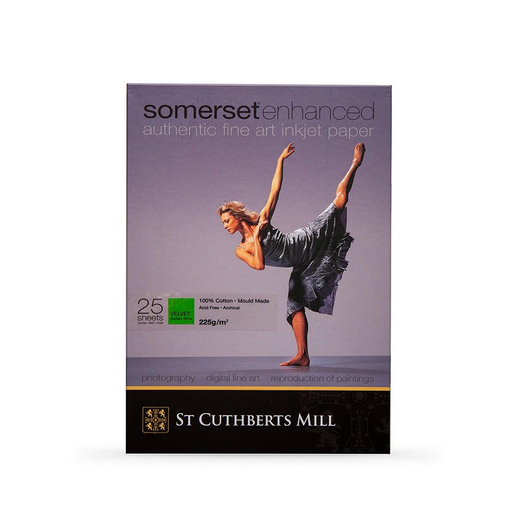 Somerset : Enhanced Digital Paper : A3+ : Box of 25 : Velvet