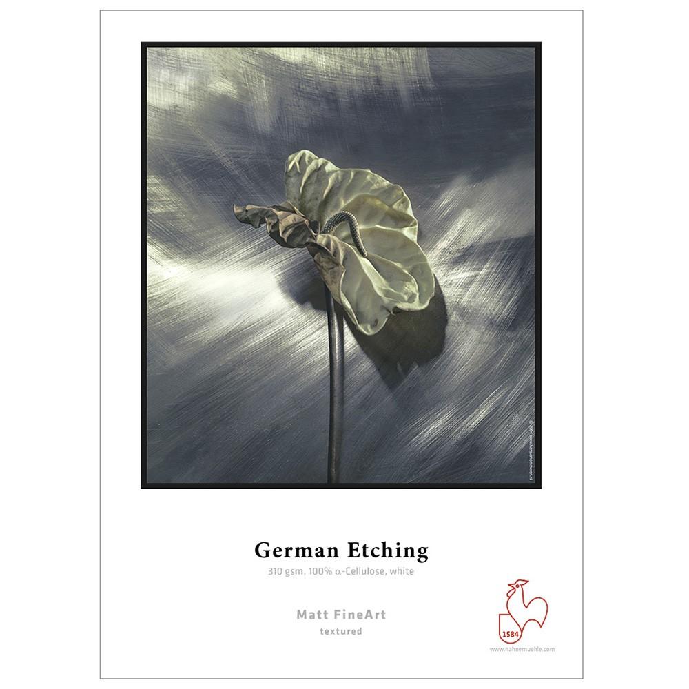Hahnemuhle : German Etching : Digital Inkjet Paper : 310gsm : 25 Sheets : A4