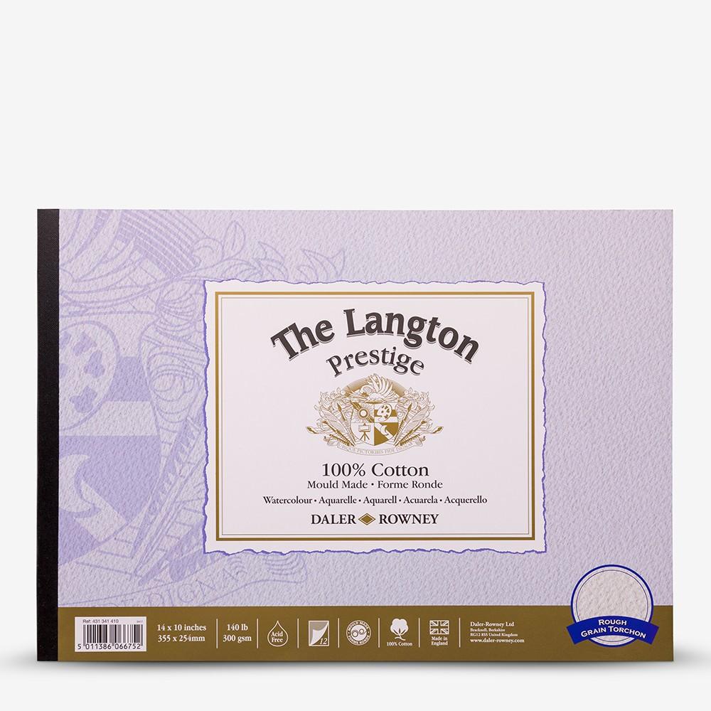 Daler Rowney : Langton : Prestige : Watercolour Paper : Glued : 10x14in : Rough