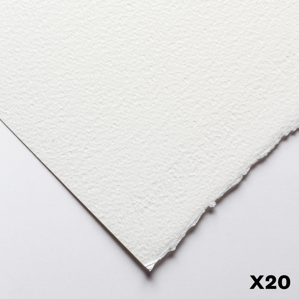 Fabriano : Artistico : 300gsm : 22x30in : 20 Sheets : Extra White : Rough