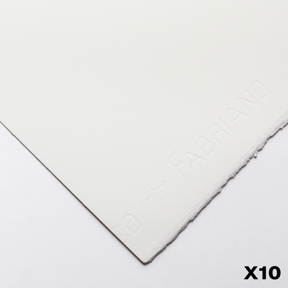 Fabriano : Artistico : 640gsm : 22x30in : 10 Sheets : Extra White : HP