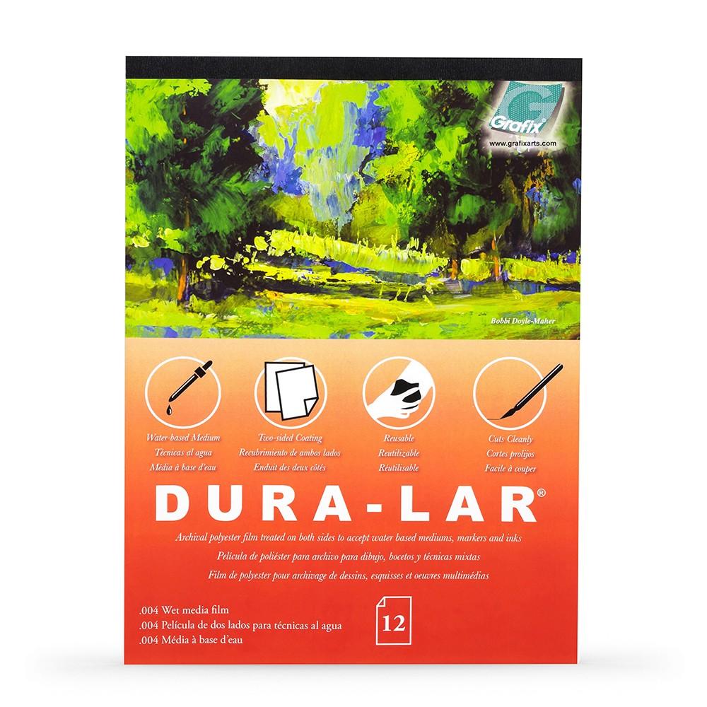Grafix : Wet Media .004in Dura-Lar : 1417in Pad : 12 Sheets