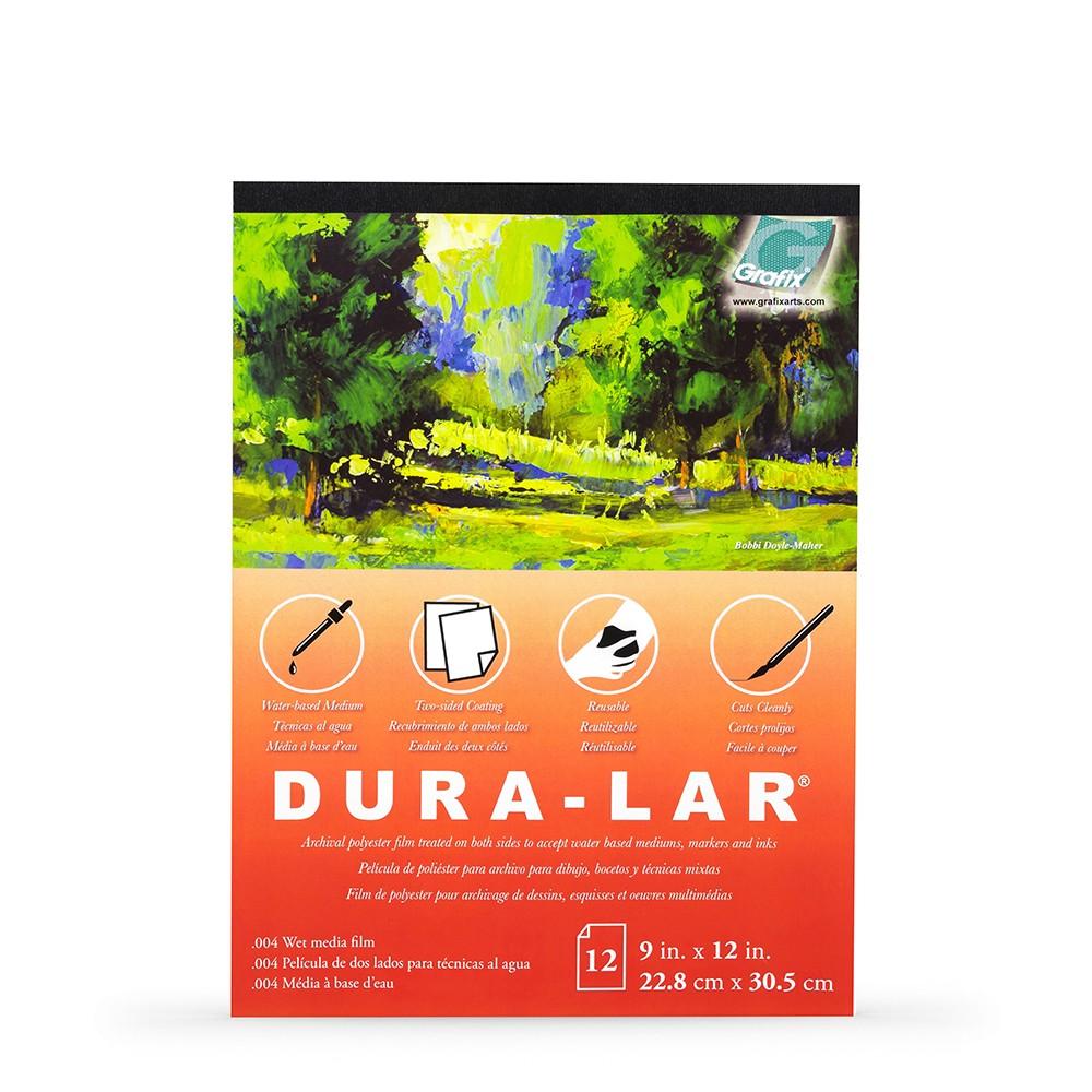 Grafix : Wet Media .004in Dura-Lar : 912in Pad : 12 Sheets