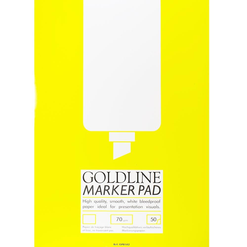 Goldline : Bleedproof Marker Pad : 70gsm : 420x594mm (A2 42x59.4cm)