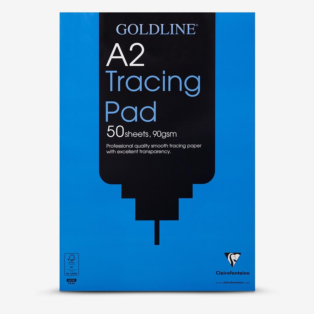Goldline : Professional Tracing Pad : 90gsm : A2 42x59.4cm