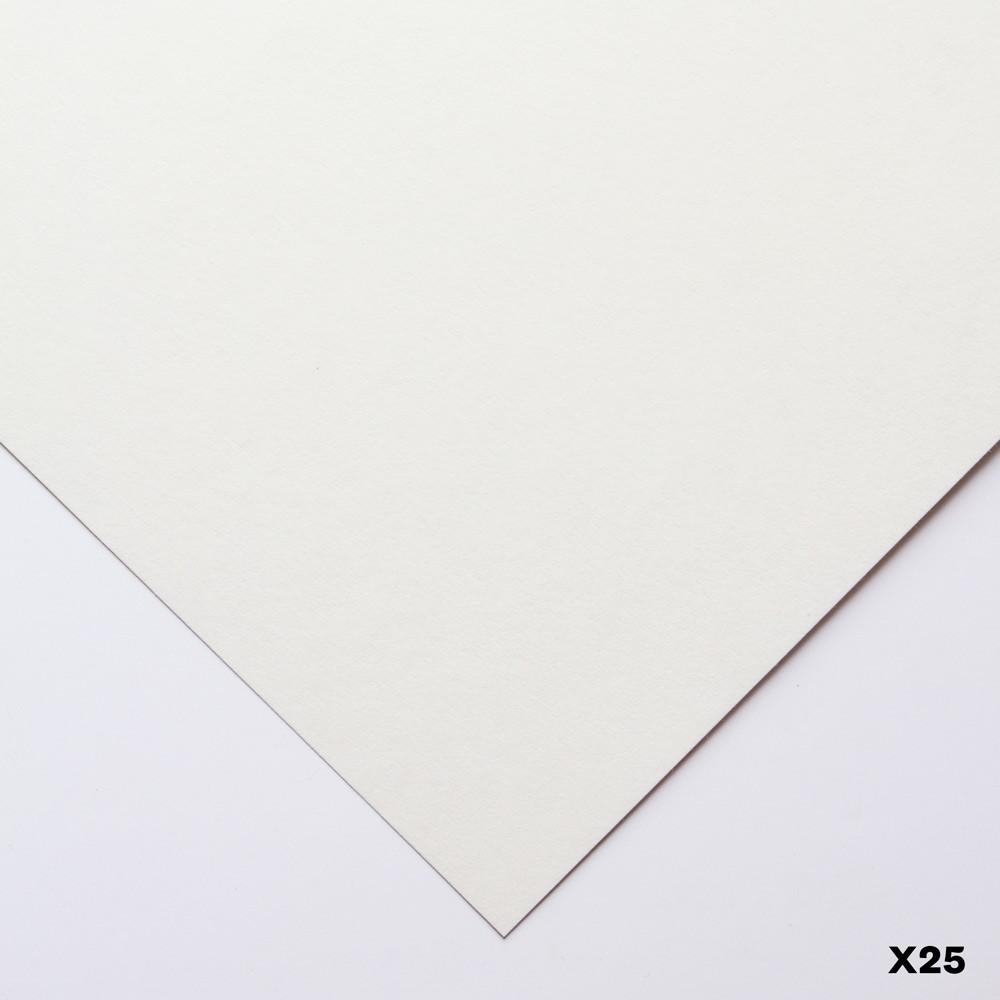 Heritage : White Screenprinting & Drawing Paper : 200gsm : 56x76cm : 25 Sheet Pack