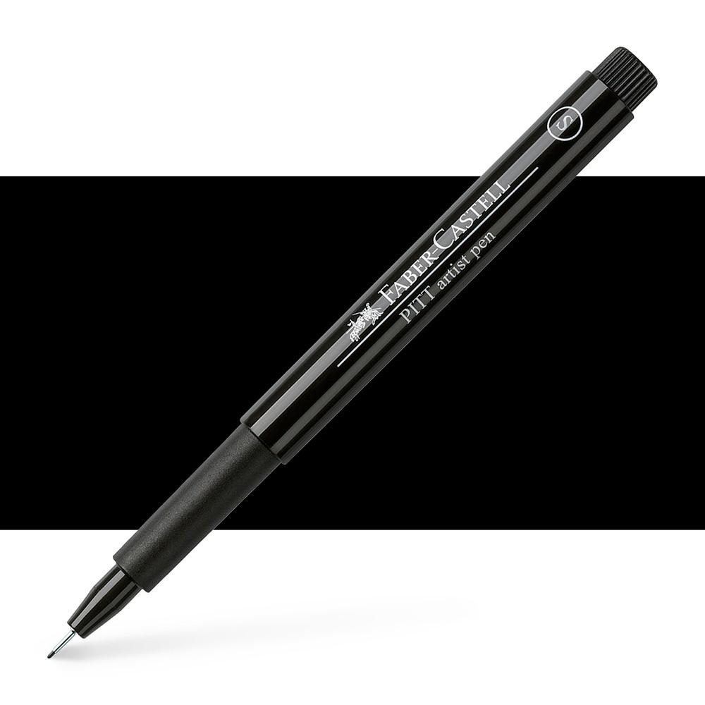 Faber Castell : Pitt Artists Pen : Super Fine : Black