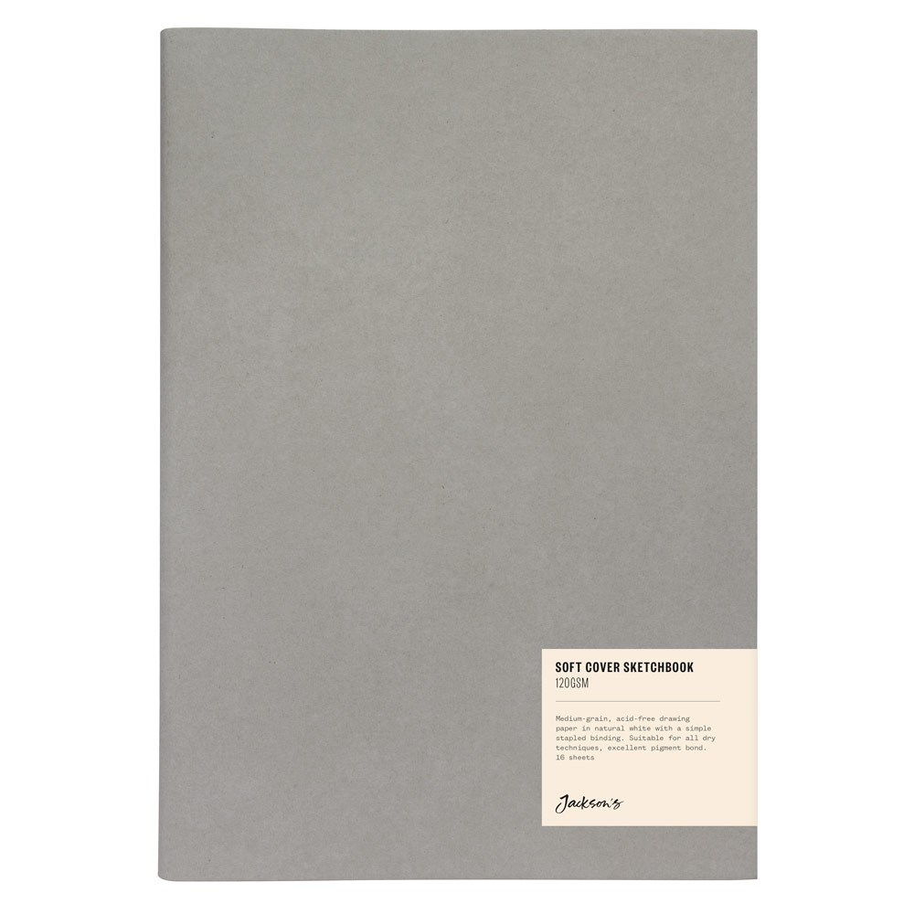 Jackson's : Softcover Sketchbook : 120gsm : 16 Sheets : A4 : Portrait