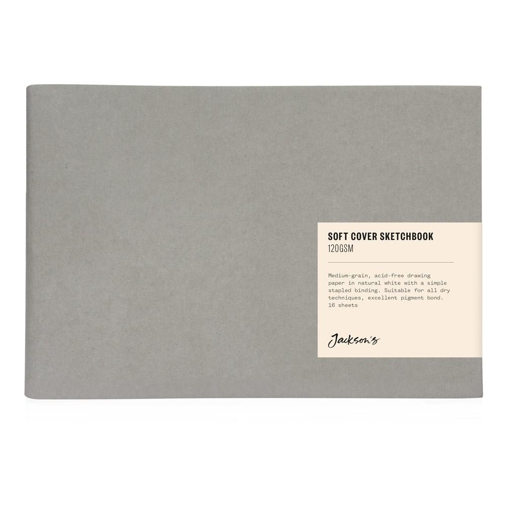 Jackson's : Softcover Sketchbook : 120gsm : 16 Sheets : A5 : Landscape