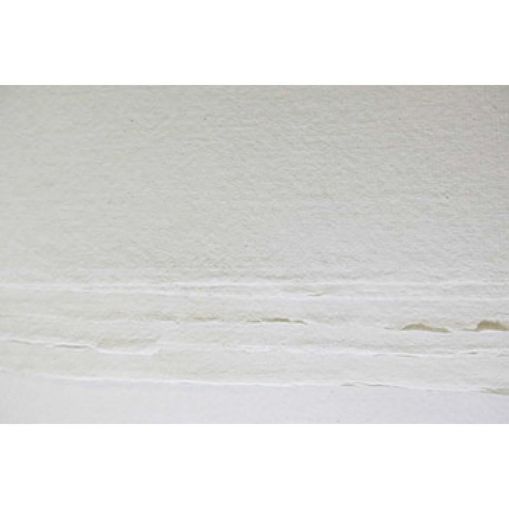 Khadi Handmade White Rag Paper 210gsm : Rough : 56x76cm : 10 Sheets