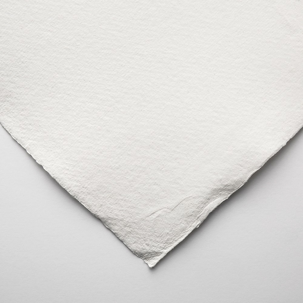 Khadi : Handmade White Rag Paper : 210gsm : Smooth : 56x76cm : 20 Sheets
