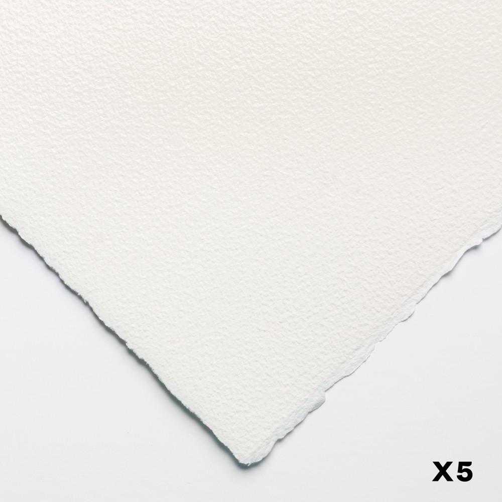 Arches : Aquarelle : 140lb : 300gsm : 22x30in : 56X76cm : 5 Sheets : Rough