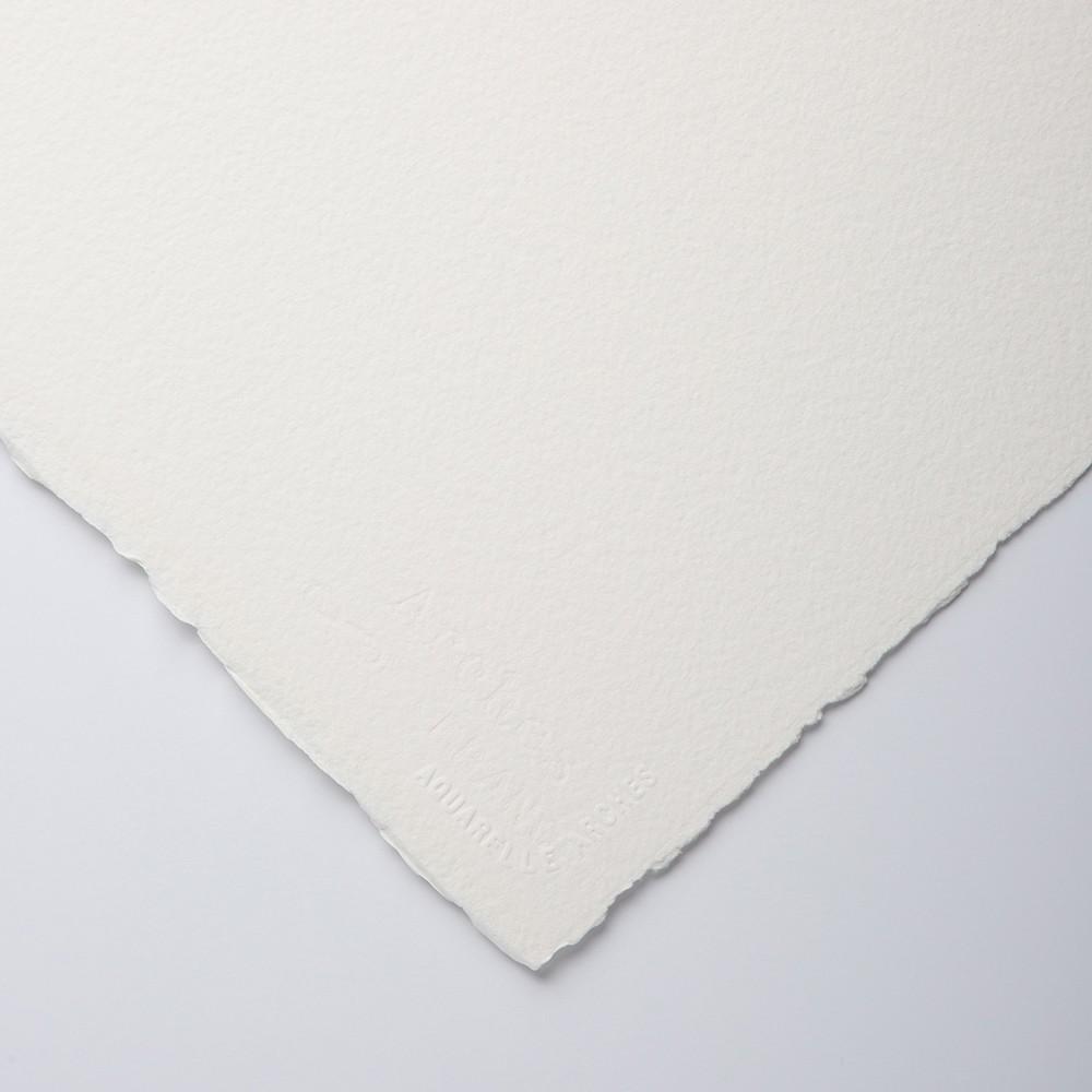 Arches : Aquarelle : 300lb : 640gsm : 22x30in : 56X76cm : 1 Sheet : Rough