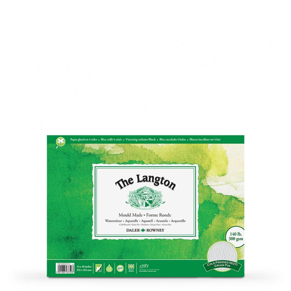 Daler Rowney : Langton : 10x14in : Watercolour Paper : Block : 140lb : Not