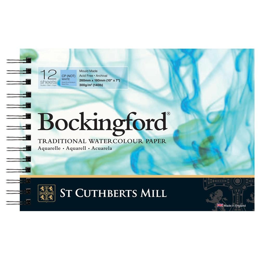 Bockingford : Pad SPIRAL : 7x10in : 140lb (300gsm) Not : 12s
