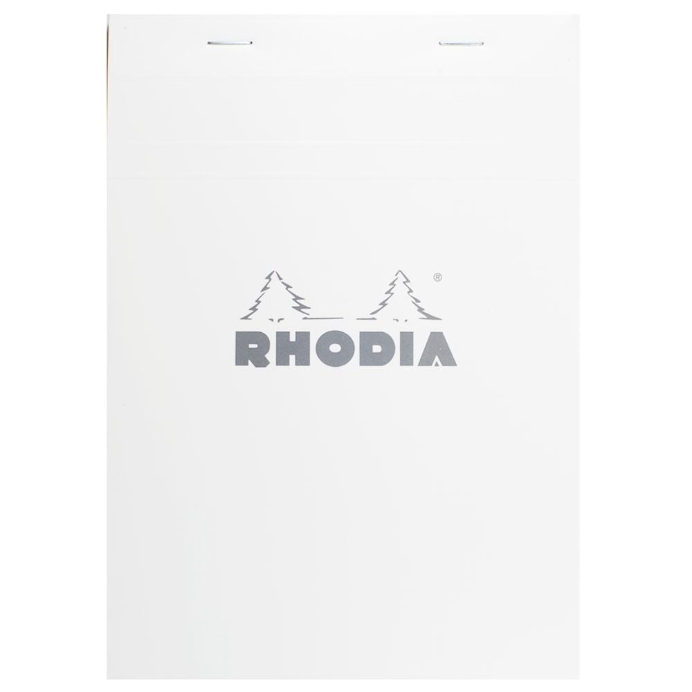 Rhodia : No.13 Basics Grid Pad : White Cover : 80 Sheets : A6