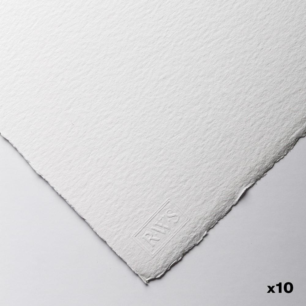 Royal Watercolour Society : Watercolour Paper : 56x76cm : 425gsm : 10 Sheets : Rough