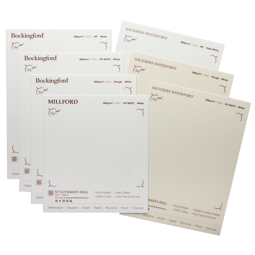 St. Cuthberts : Watercolor Paper : Sample Pack