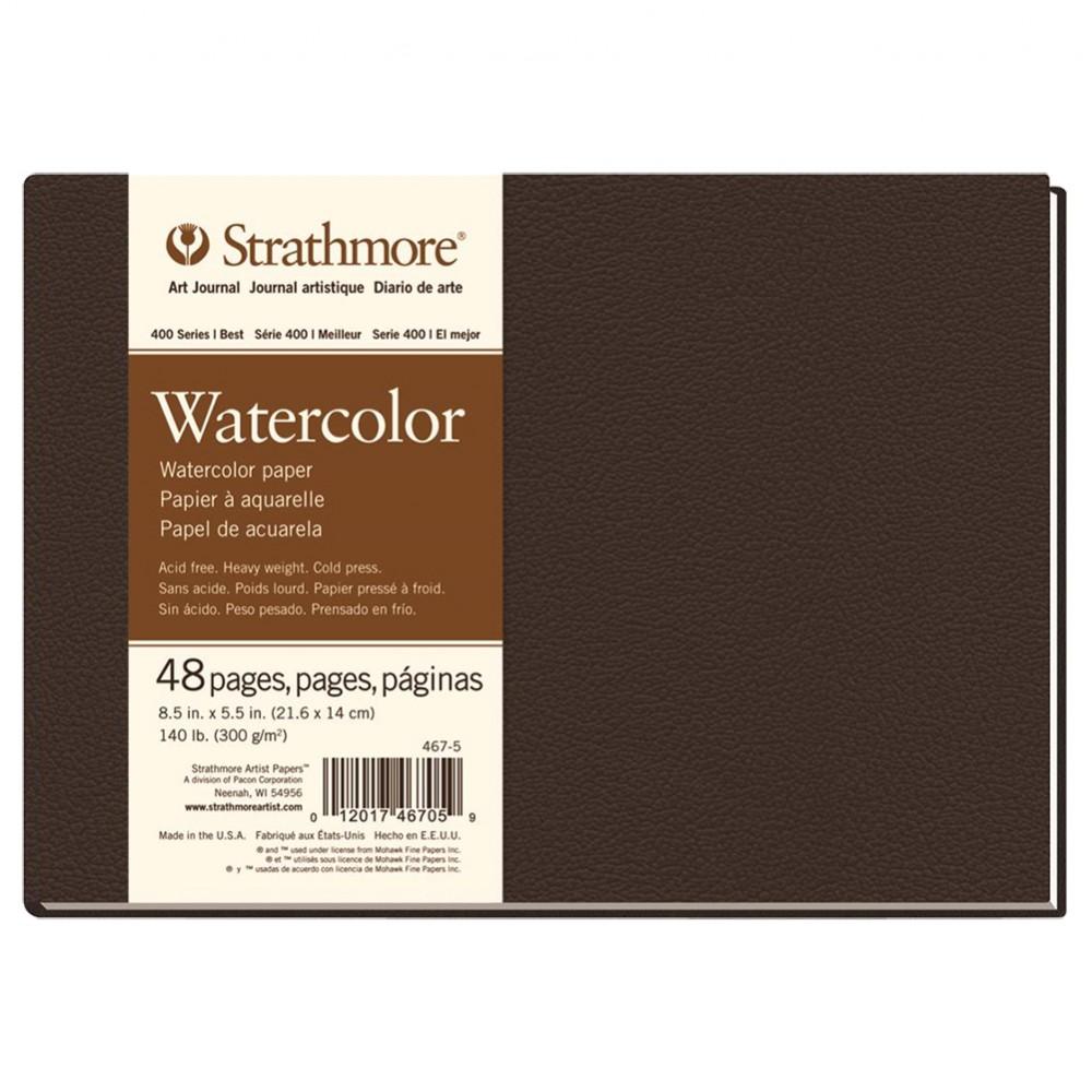 Strathmore : 400 Series : Watercolour : Hardbound Art Journal: 5.5x8.5in