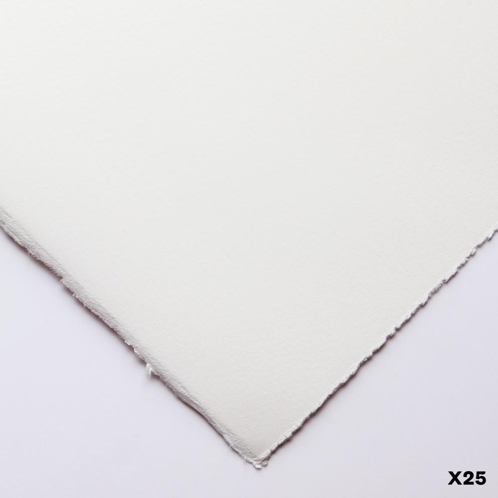 Somerset : Printmaking Paper : 56x76cm : 300gsm : White : Satin : Pack of 25