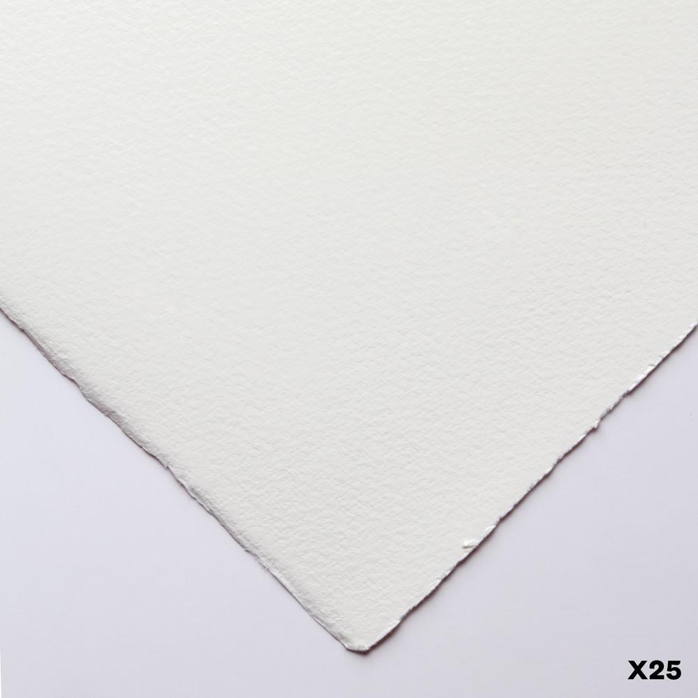 Somerset : Printmaking Paper : 56x76cm : 300gsm : White : Velvet : Pack of 25
