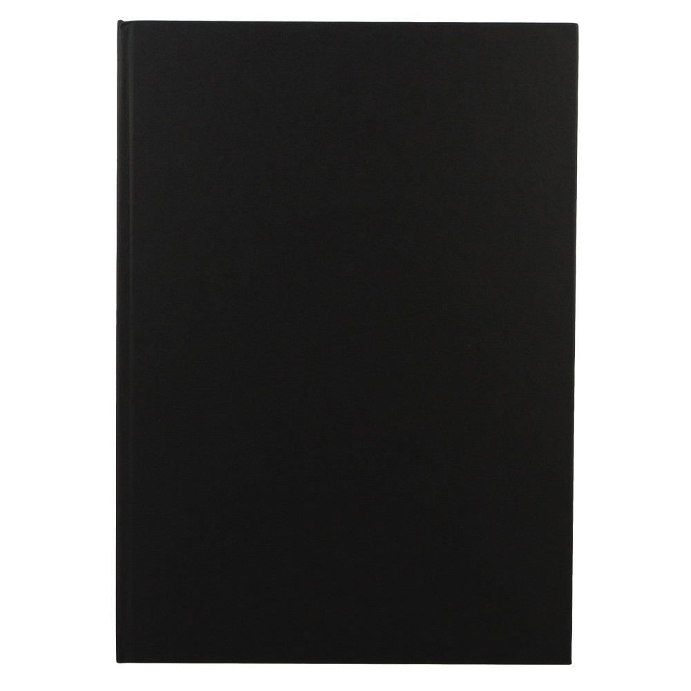 Seawhite : Black Cloth Case Bound Sketchbook 140gsm : A3 Portrait