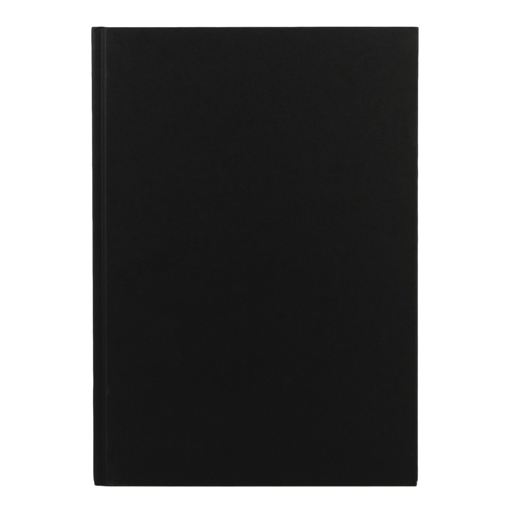 Seawhite : Black Cloth Case Bound Sketchbook 140gsm : A4 Portrait