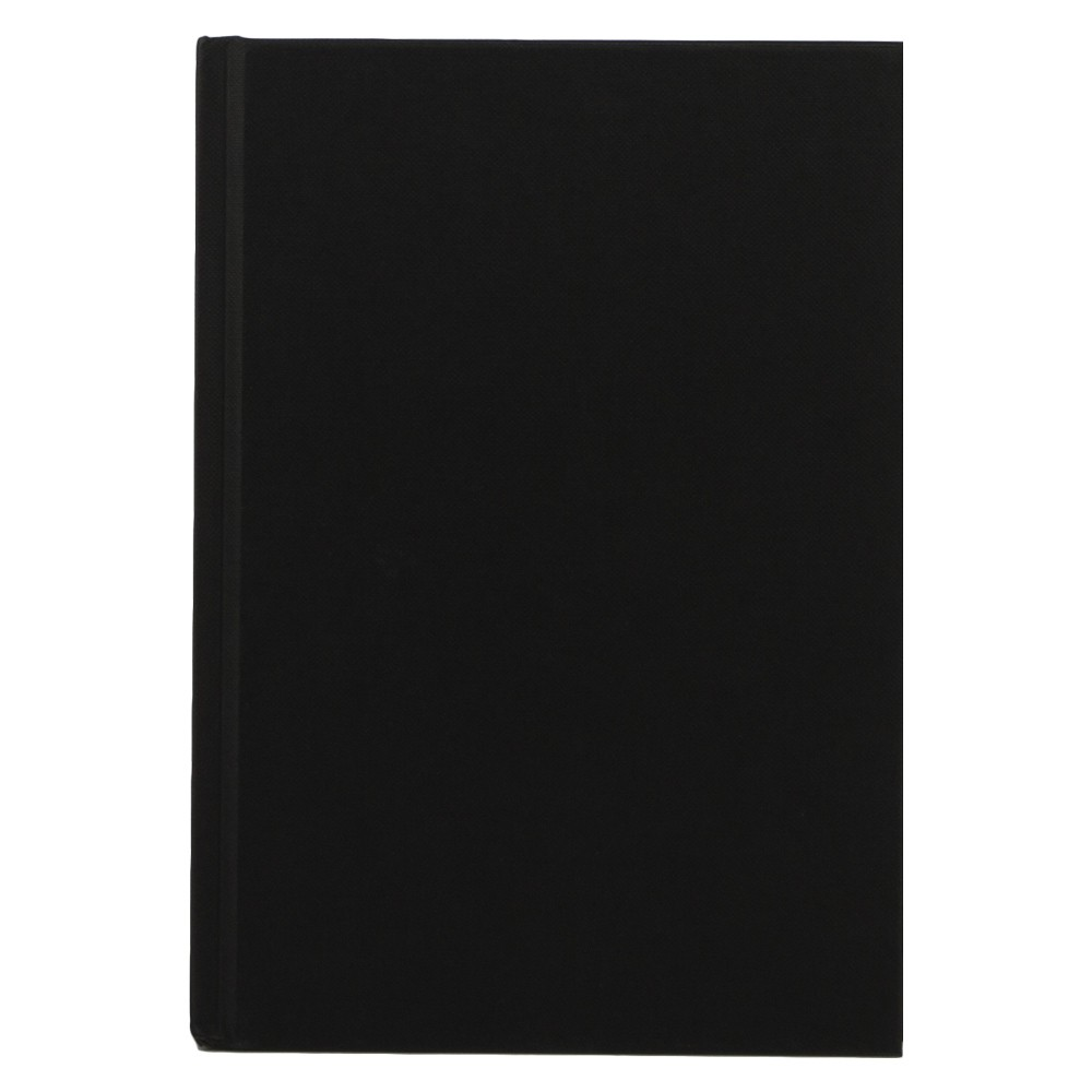 Seawhite : Jackson's : Black Cloth Case Bound Sketchbook 140gsm : A5 Portrait