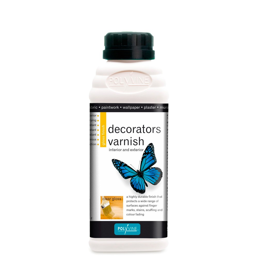 Polyvine : Gloss Decorators Varnish : 500 ml