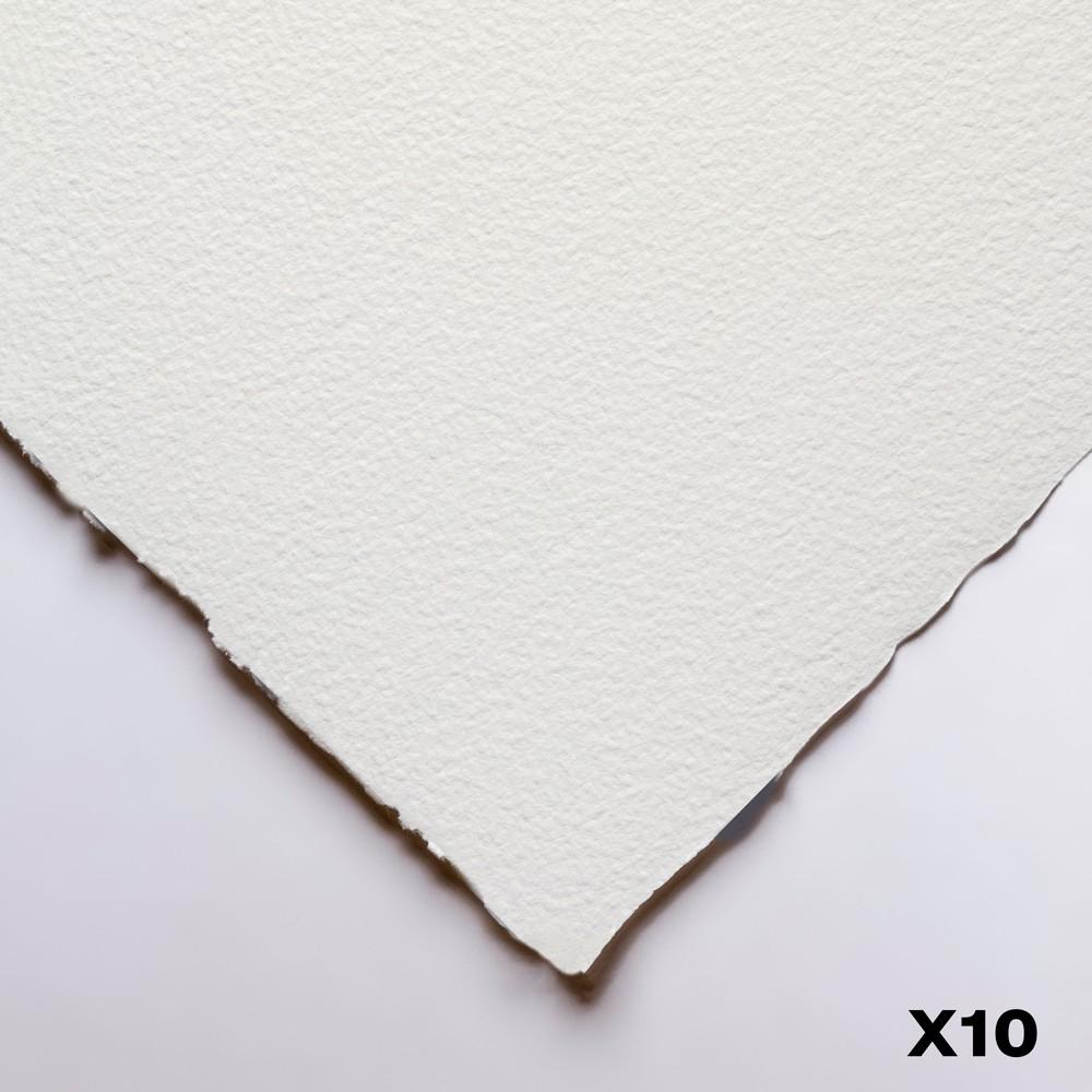 Winsor & Newton : Professional : Watercolour Paper : 640gsm : 56x76cm : 10 Sheets : Rough