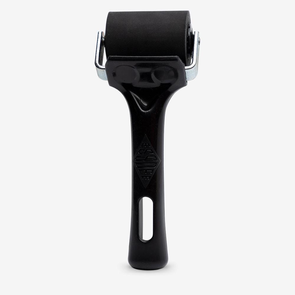 Essdee : Professional Ink Roller (Black Handle) : 5cm
