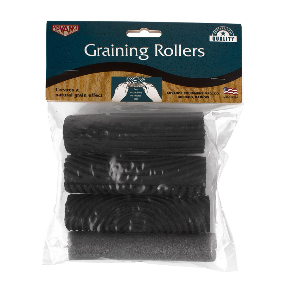 RTF Granville : Set of 3 Rubber Graining Rockers