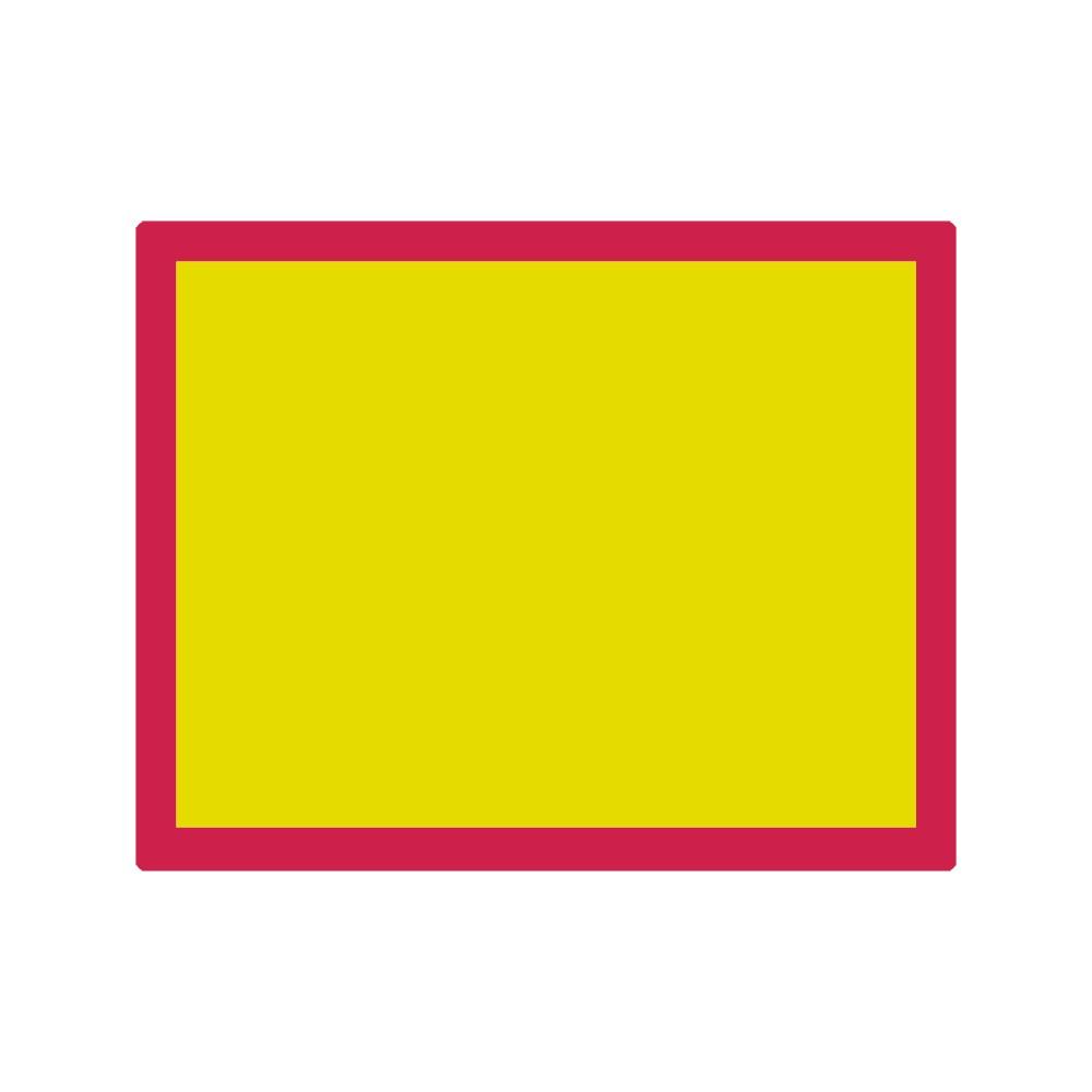 Jackson's : Aluminium Screen Printing Screen : 120T Yellow Mesh : 19x24 inches