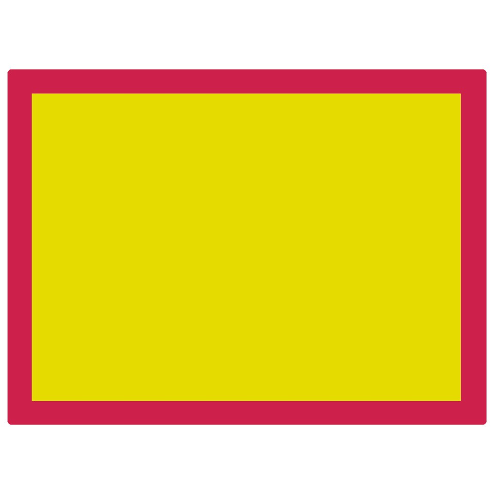Jackson's : Aluminium Screen Printing Screen : 120T Yellow Mesh : 31x23 inches