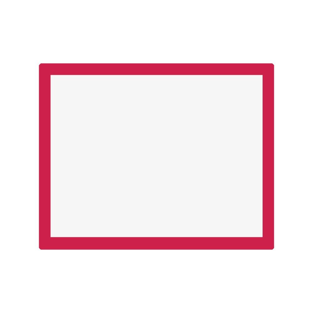 Jackson's : Aluminium Screen Printing Screen : 32T White Mesh : 19x24 inches
