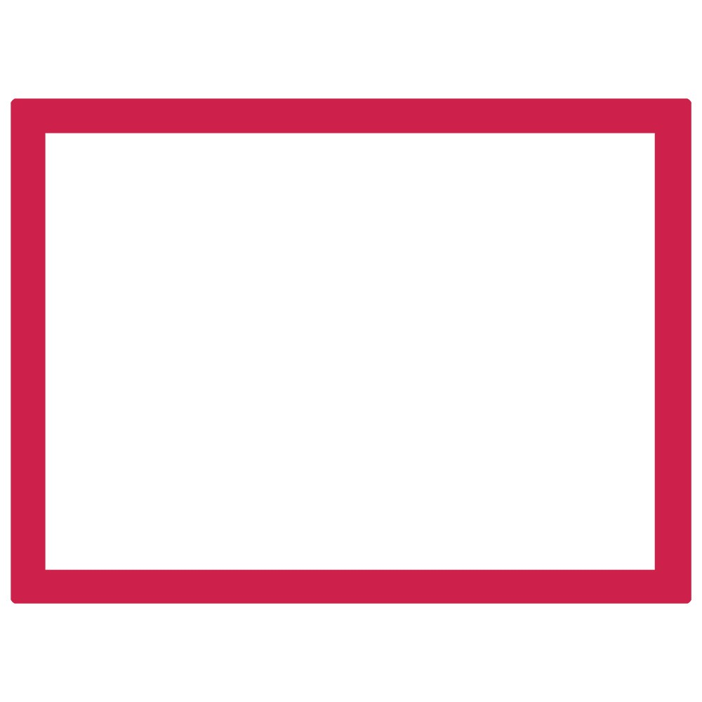 Jackson's : Aluminium Screen Printing Screen : 32T White Mesh : 31x23 inches
