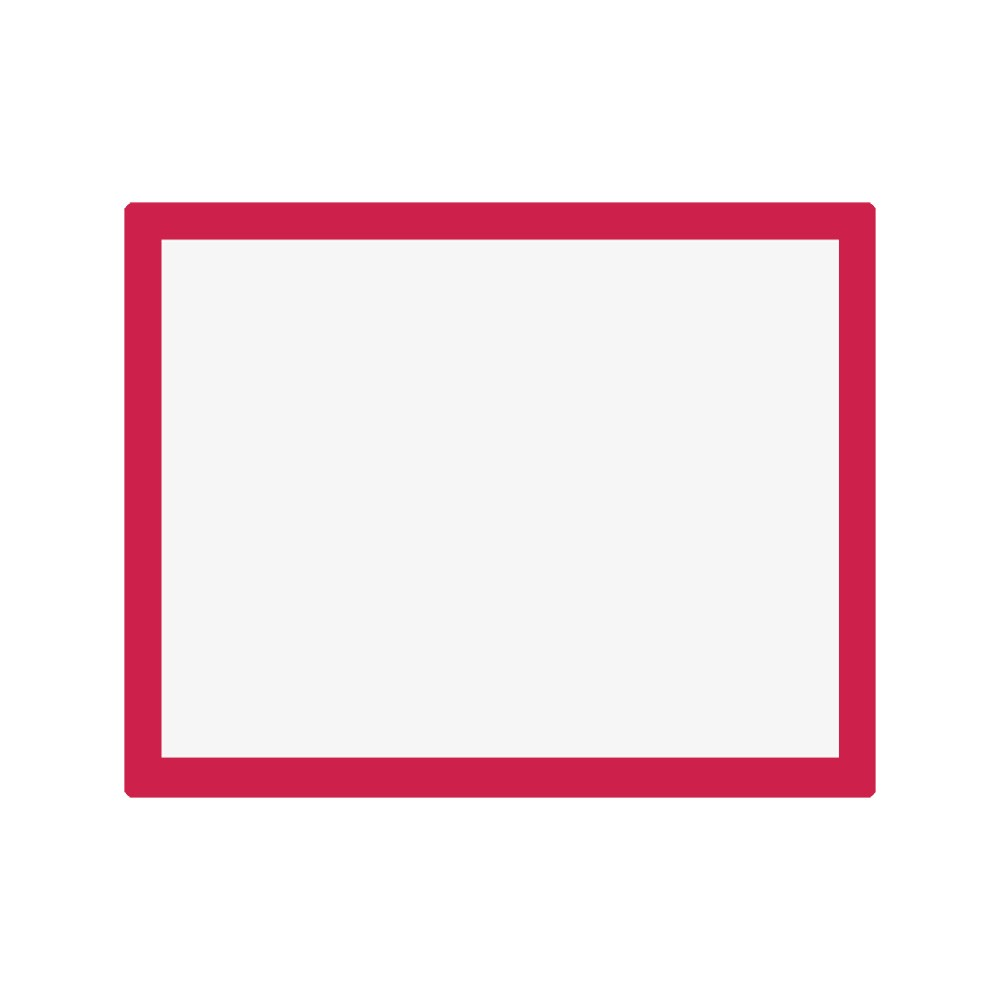 Jackson's : Aluminium Screen Printing Screen : 55T White Mesh : 19x24 inches