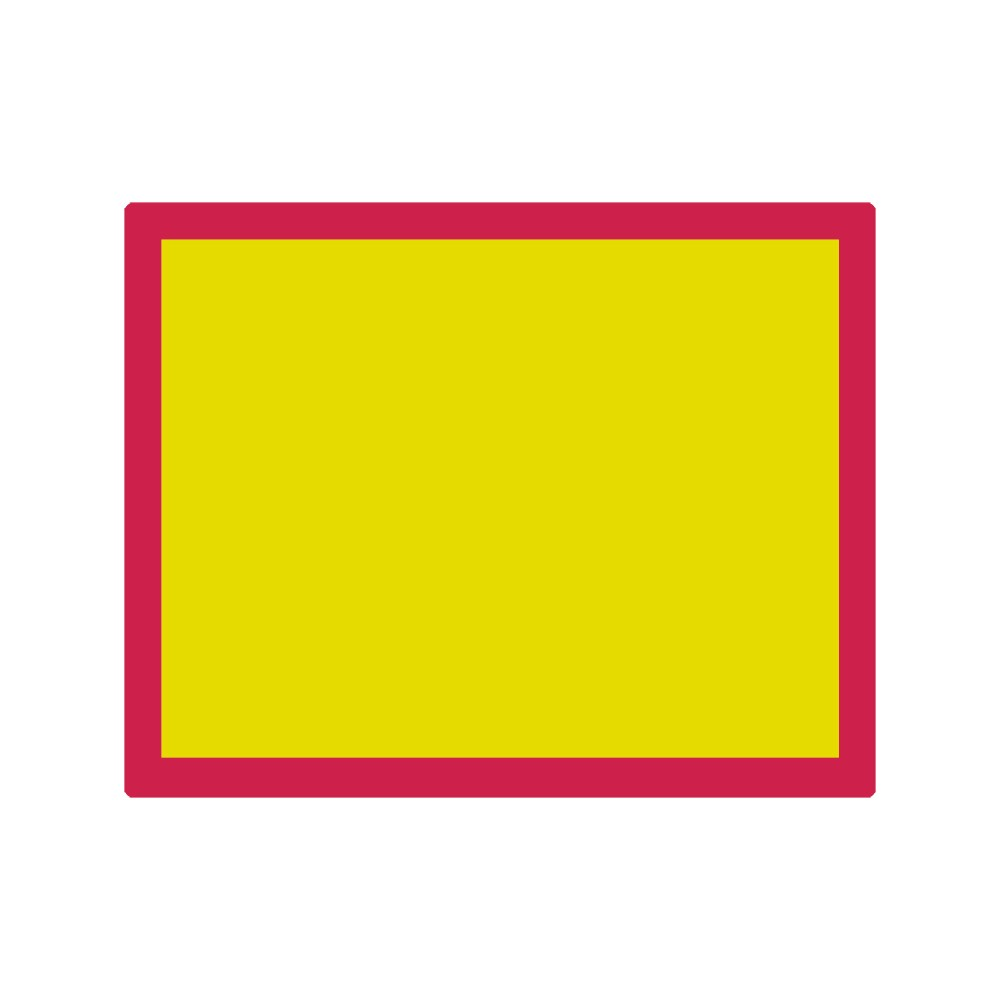 Jackson's : Aluminium Screen Printing Screen : 90T Yellow Mesh : 19x24 inches