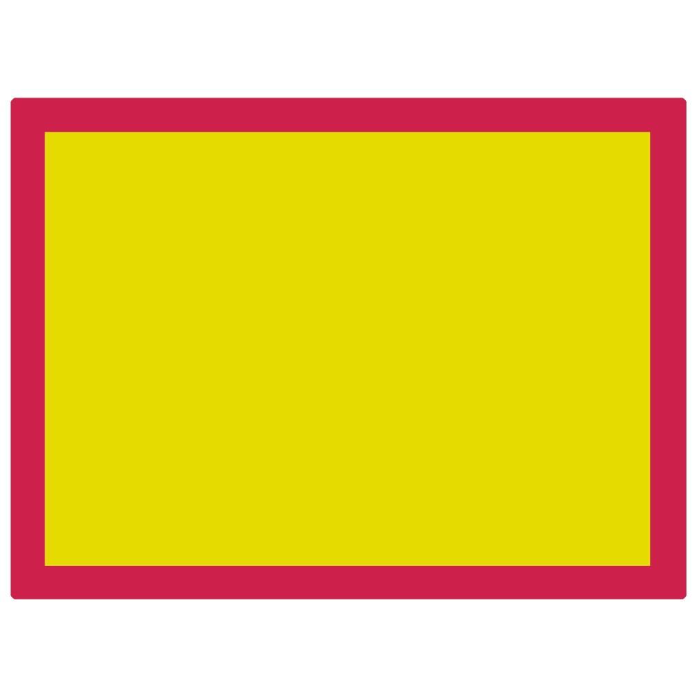 Jackson's : Aluminium Screen Printing Screen : 90T Yellow Mesh : 31x23 inches