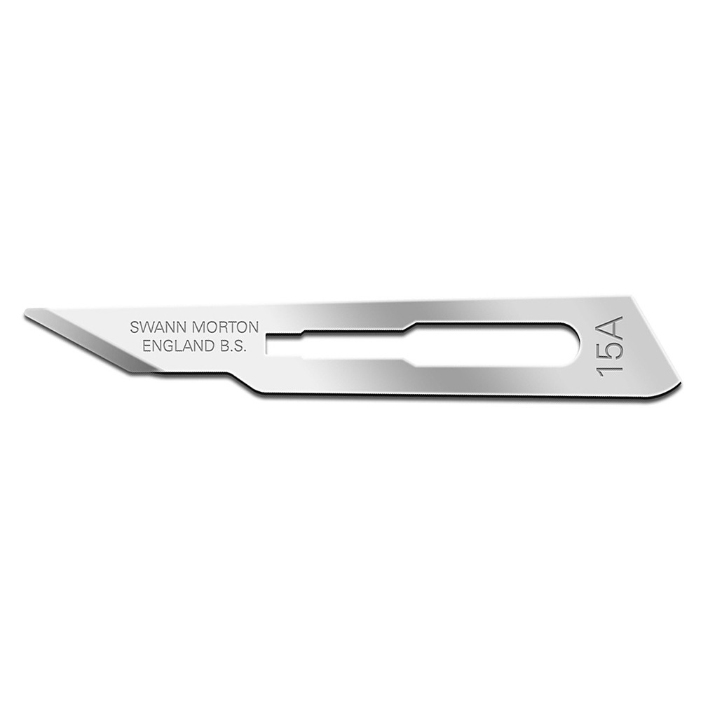 Swann Morton : Scalpel Blade No 15a for No.3 Handle (pack of 5)