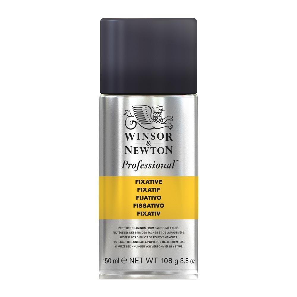 Winsor & Newton : Spray Soft Pastel Fixative : 150ml : By Road Parcel Only