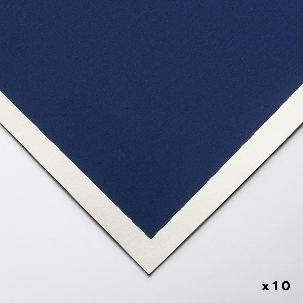 Art Spectrum : Colourfix Original : Pastel Paper : 50x70cm : Deep Ultra : Pack of 10