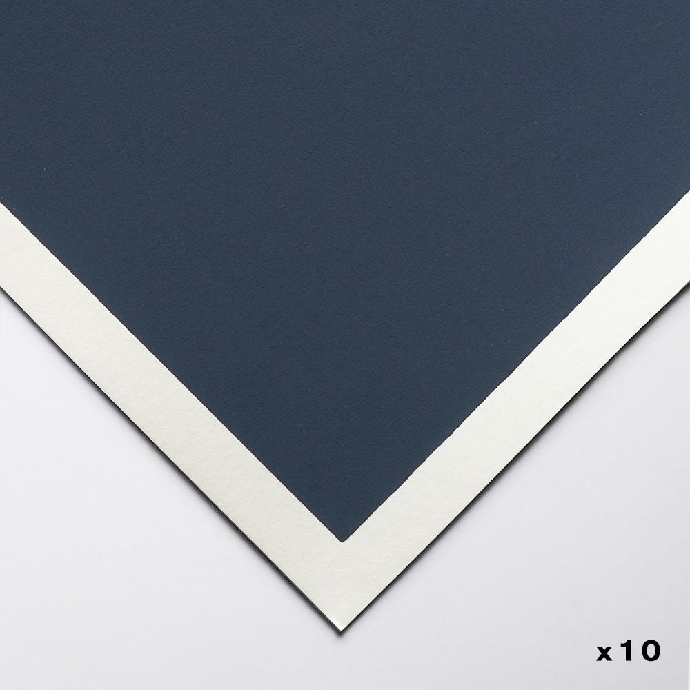Art Spectrum : ColourFix Pastel Paper : 50x70cm : Storm Blue : Pack of 10