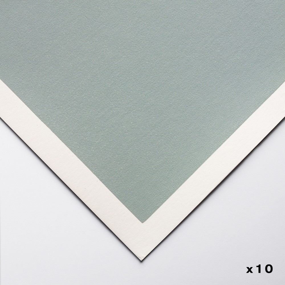 Art Spectrum : Colourfix Pastel Paper : 50x70cm : Fresh Grey : Pack of 10