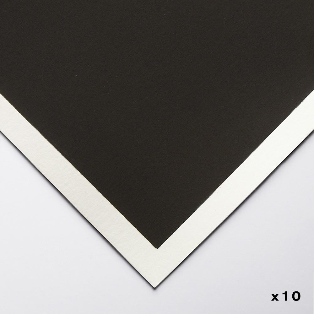 Art Spectrum : Colourfix Original : Pastel Paper : 50x70cm : Deep Black : Pack of 10