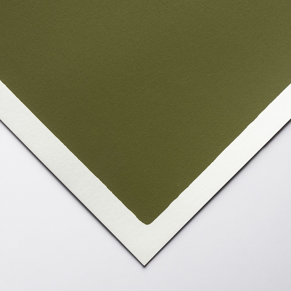 Art Spectrum : Colourfix Original : Pastel Paper : 50x70cm : Olive Green