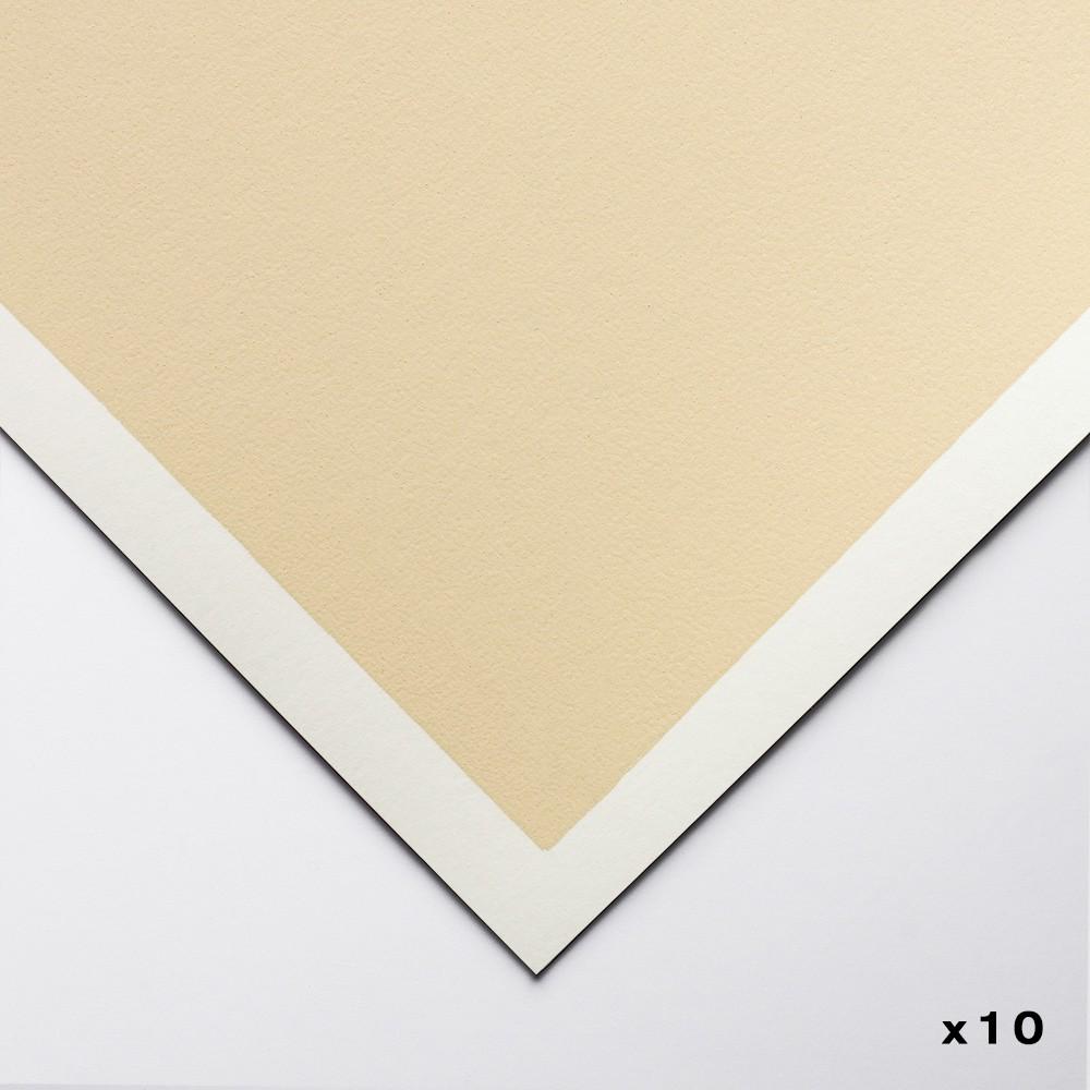 Art Spectrum : Colourfix Original : Pastel Paper : 50x70cm : Sand : Pack of 10
