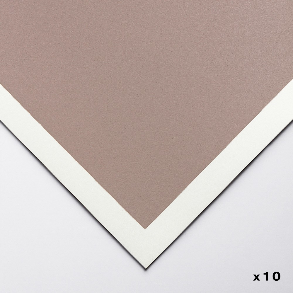 Art Spectrum : Colourfix Original : Pastel Paper : 50x70cm : Rose Grey : Pack of 10