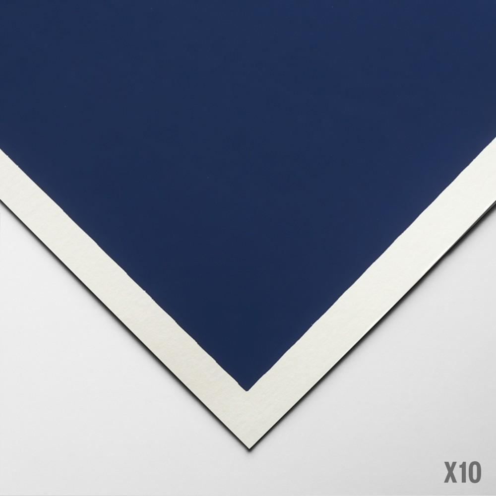 Art Spectrum : Colourfix Smooth : Pastel Paper : 50x70cm : Deep Ultra : Pack of 10