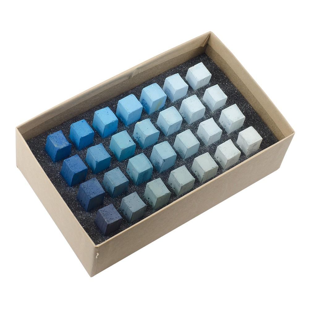 Blue Earth : Soft Pastel : 28 Stick Box Set : Cerulean